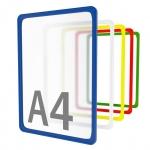 Рамка пластиковая стандартная с закругленными углами А4