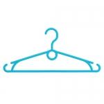 Вешалка пластиковая для одежды А-491