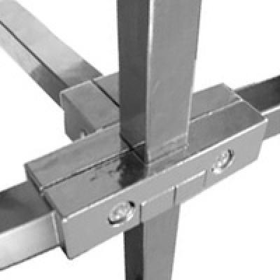 PR 013 Соединитель для квадратной трубы внешний