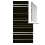 Экономпанель пластиковая пвх сборная.цвет черный 1200*2400мм А02