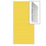 Экономпанель пластиковая пвх сборная.цвет желтый 1200*2400мм