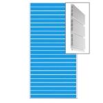 Экономпанель пластиковая пвх сборная.цвет голубой 1200*2400мм