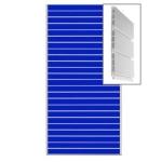 Экономпанель пластиковая пвх сборная.цвет синий 1200*2400мм