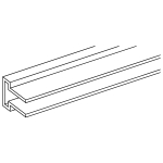 Алюминиевый профиль,Горизонтальная торговая система/Slot