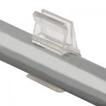 Держатель стекла и трубы 25мм (пластиковый) jk 36