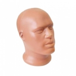 Манекен мужской головы,пластиковый Г-102