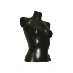 Манекен торс женский черного цвета Г-189