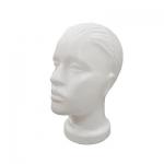 Манекен женской головы,пластиковая