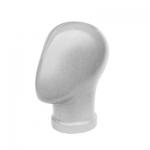 Манекен голова безликая (пластиковая)