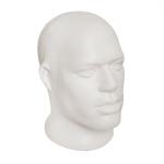Манекен мужской головы,пластиковая