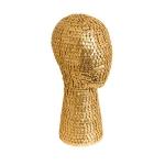 Манекен головы металлический для головных уборов