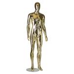 Манекен мужской золотистый в полный рост WA-2005