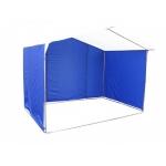 Торговая палатка 2*2.5метра.Сине белого цвета
