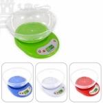 EKS-333-5 Весы электронные бытовые кухонные с чашей