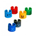 Размерники для плечиков (S.L.M.XL.XXL),разноцветные