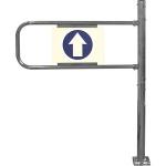 Механические ворота с функцией антипаника (Правые) SW.007.004