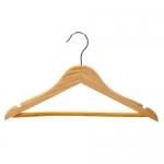 Деревянная вешалка-плечик для детской одежды (с перекладиной)