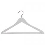 Деревянная вешалка-плечик для одежды (с перекладиной)