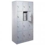 Металлический шкаф ШРМ312 (камера хранения для магазинов)