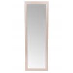 Зеркало настенное в деревянной раме (цвет дуб) ЗМ-02