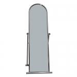Зеркало напольное в хромированной раме 3041B-С