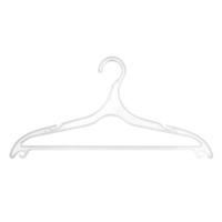 Вешалка плоская люкс (прозрачная) 917А