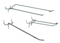 Крючки на перфорированную панель (перфорацию) (9)