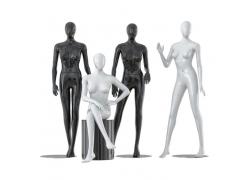 Манекены женские абстрактные (безликие) (10)