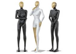 Манекены женские глянцевые White/Black/Gold/Silver (14)