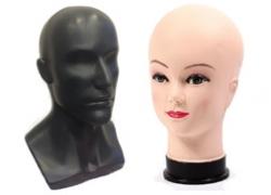 Манекены головы пластиковые (13)