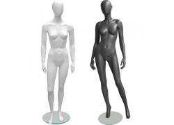 Манекены женские матовые White/Black (2)