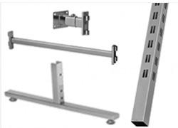 Система перфорированных труб 40*40мм Basis (39)