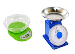 Механические бытовые настольные весы