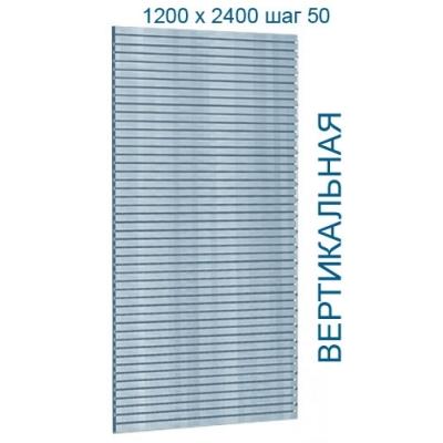 Экономпанель шаг 50 мм. (цвет белый) А-03