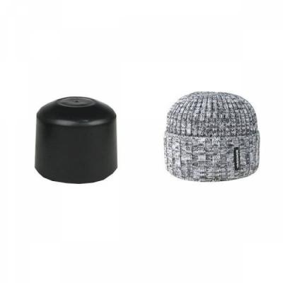 Подставка для шапок, пластиковая, цвет черный