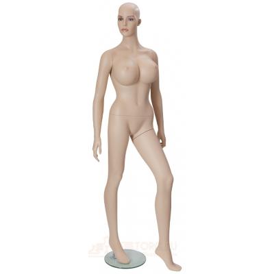 Манекен женский телесный 95х60х87 см HLM-7D