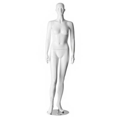 Манекен женский в полный рост (белый глянец) WA-50
