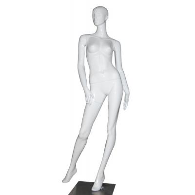 С-18 Манекен женский белый глянец