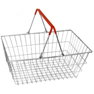 Корзина покупателя металическая YLD-03М