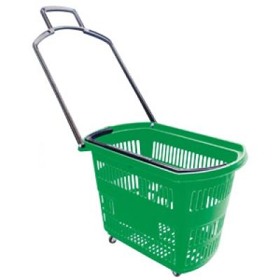 Корзина – тележка пластиковая, 32 л PLB-010.Z