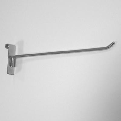 Крючок хромированный на торговую решетку 15см 5003Р