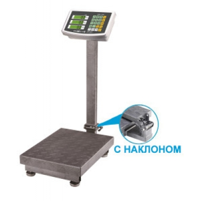 Весы счетные платформенные электронные SIBS-500N