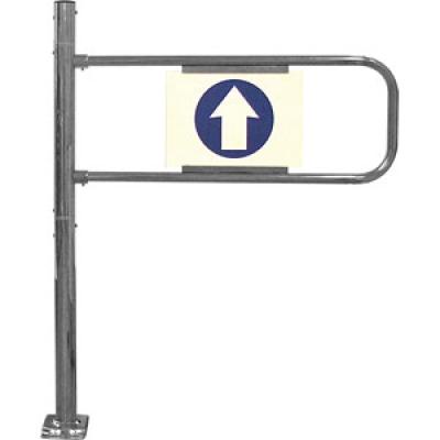 Механические ворота с функцией антипаника (левые) SW.007.003