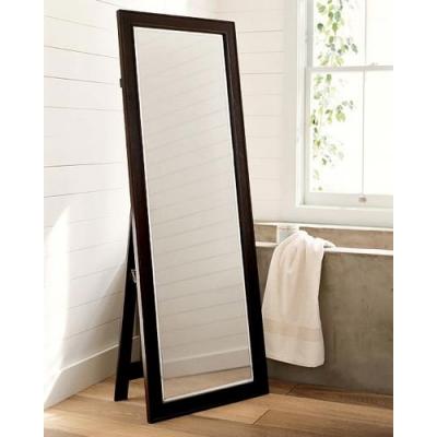 Напольное зеркало в рамке цвет венге 3М-04